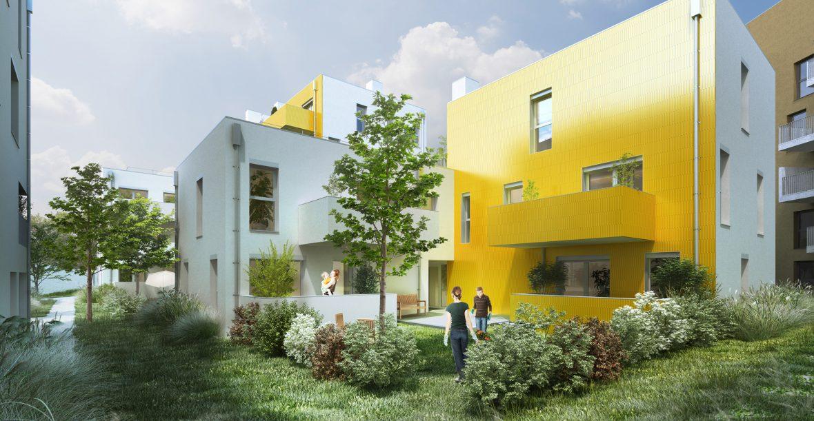 Die Sonnenblumenhäuser - Bild